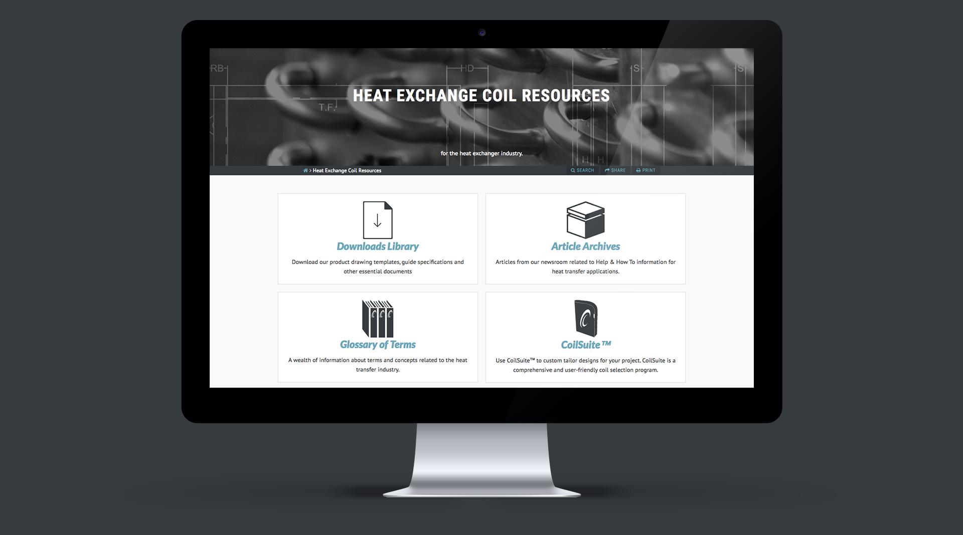 Resources Page of CoilmasterCorp.com