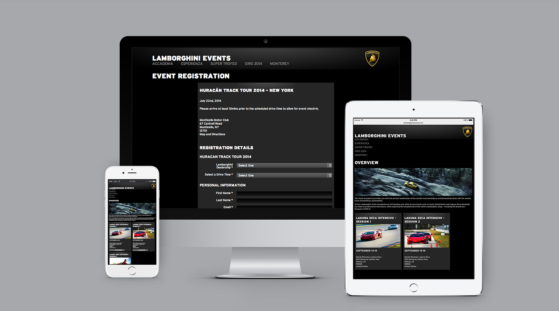 Register.LamborghiniEvents